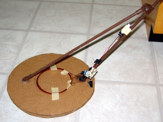 Rewound homebrew metal detector