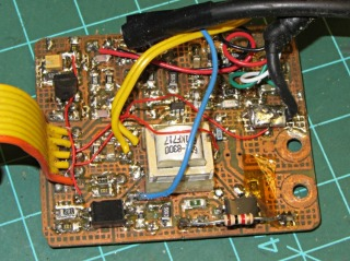 Z1A PCB modified for Wouxun KG-UV3D