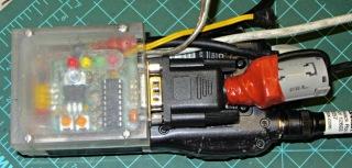 Z1A board on W32A - ferrite core
