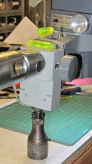 Microscope with machinists jack