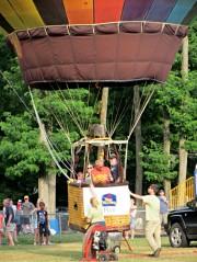 Balloon - liftoff