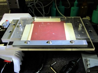 Sherline with maximum PCB platen