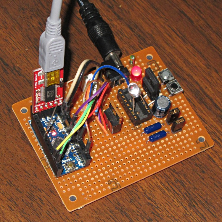 LED Curve Tracer: Hardware | The Smell of Molten Projects in