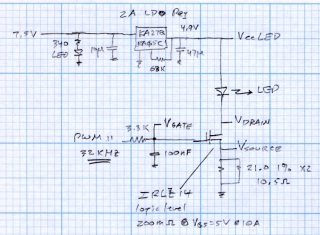 LED Curve Tracer Schematic