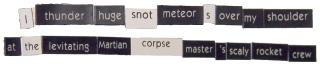 Snot Meteors