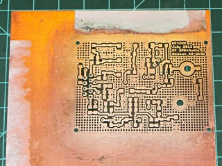 HT-GPS PCB - raw plated - top