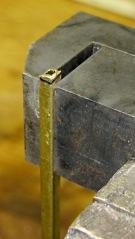 Shaping case latch bar