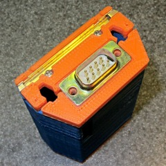 HT-GPS Case - Latch plate detail