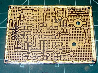 PCB with edge wrap - front