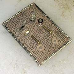 HT-GPS PCB - battery contact parts