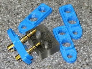 Wouxun plug plates - 11.5 mm fixture