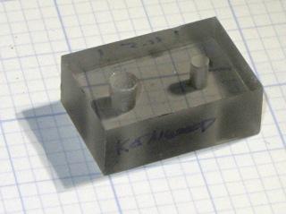Plug alignment plate - 11.5 mm spacing