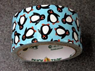 Penguin Duck Tape - detail