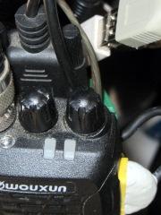Wouxun KG-UV3D - volume knob marking