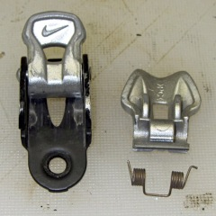 Nike cycling shoe latch - broken spring
