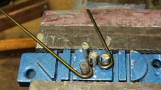 Screwdriver clip - second bend