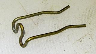 Screwdriver clip - entry bends