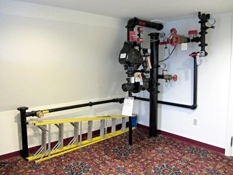 Sprinkler System Plumbing