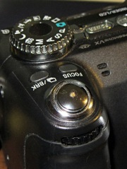 DSC-H5 - repaired shutter button