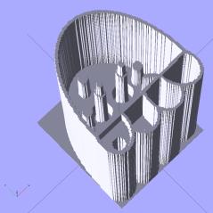 Jellyfish - surface model