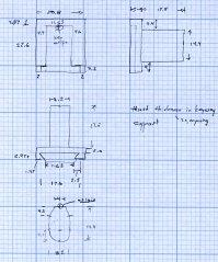 Refrigerator Bracket - dimension doodle