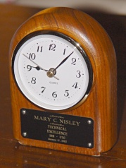 IBM Tech Excellence Award Desk Clock