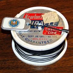 Pull tab - braided nylon line