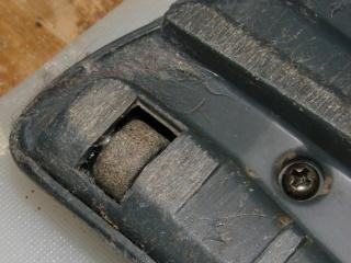 Samsung 9048 - worn roller - left