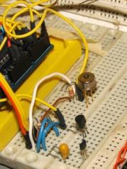 SSAC10-11 PIR Sensor - breadboard