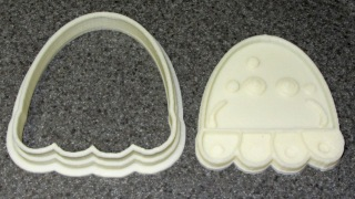 Jellyfish Cookie Cutter and Press - separate