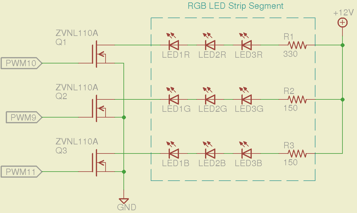 12v Addressable Led Wiring Diagram Detailed Schematics 120v Strips Rgb Help Using Ws2811 To Drive Strip Element14 Experts Dimmer Switch
