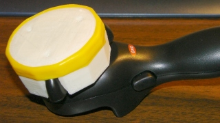 OXO Can Opener - knob cover with silicone tape
