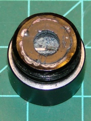 LED Flashlight switch - spring removed