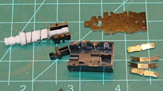 Tek2215A power switch - disassembled