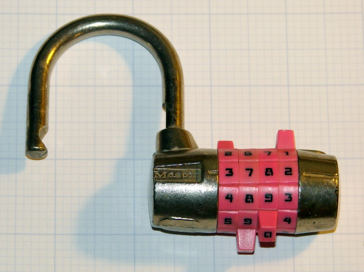 easy way to crack a master combination lock