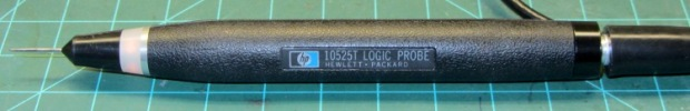 HP10525T Logic Probe - glowing