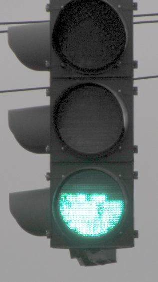 Traffic Signal - dead green LEDs - 2012