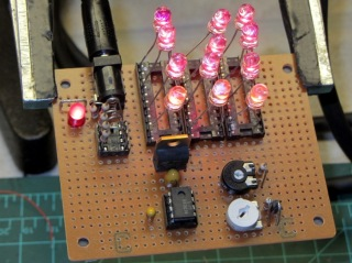 LED Stress Tester - red and amber LEDs