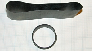 Giant heatshrink tubing test