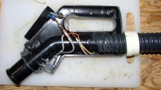 Samsung Vacuum Handle - wiring detail