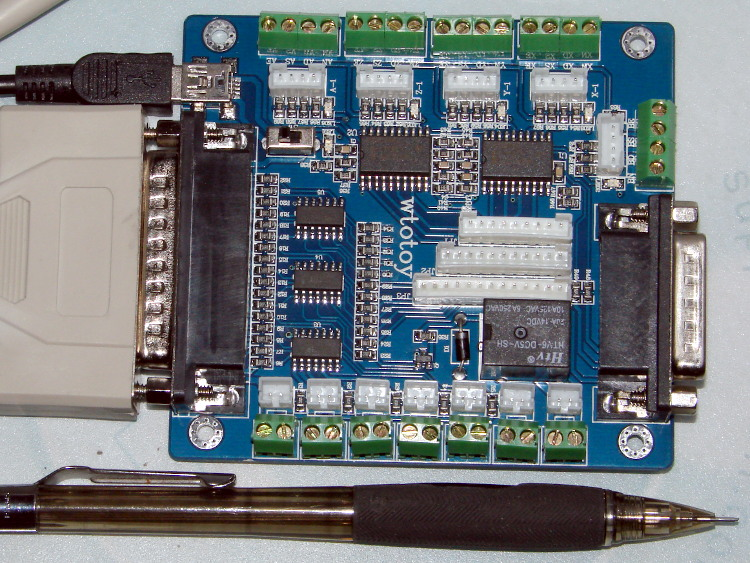 Hy-jk02-m 5-axis interface board