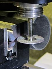 Slitting ferrite toroid - complete