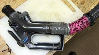 Samsung vacuum cleaner - handle interior