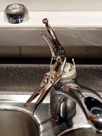 Kitchen Faucet - redneck handle repair
