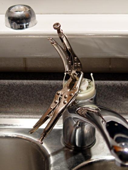 Kitchen Faucet - redneck handle repair