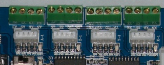 Anonymous parallel breakout board - series resistors