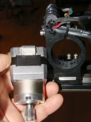 M2 extruder - motor and mount