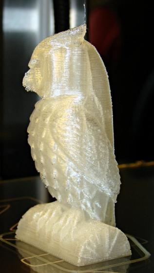 Owl - half size - left