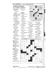 Crossword - full page