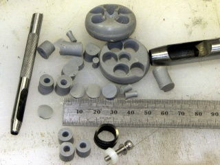 Silicone rubber pads for M2 platform - punching
